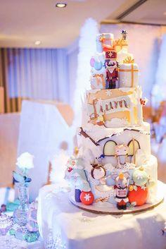 Nutcracker Inspired Cake from a Nutcracker Inspired Birthday Party via Kara's Party Ideas | KarasPartyIdeas.com (38)
