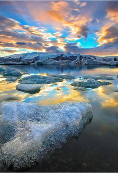 Icelandic Paradise ~ Iceland ~ by Hector Balgos