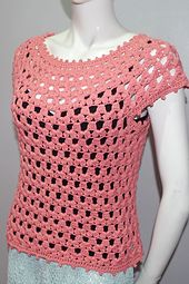 Ravelry: Lea Blouse pattern by Girlie D. de los Reyes