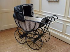 Colin and Yvonne Roberson - baby carriage
