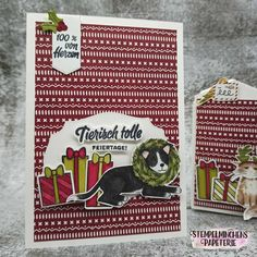 Weihnachten im Strumpf - Stampin' Up! Stampin Up, Cover, Books, Art, Paper Mill, Holiday, Christmas, Art Background, Libros