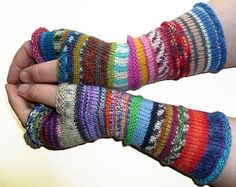 Knit Fingerless gloves - Arm warmers - Wrist warmers - Long Fingerless Mittens - womens fingerless - Hand warmers - Gift for her - Rainbow Baby Knitting Patterns, Crochet Gloves Pattern, Arm Knitting, Crochet Patterns, Fingerless Gloves Knitted, Knit Mittens, Wrist Warmers, Hand Warmers, Patterned Socks