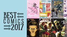 The 25 Best Comic Books of 2017  ||  The best comics of 2017 are a mélange of superhero social commentary, immigration memoirs, meditations on monstrousness and caveman satire. https://www.pastemagazine.com/articles/2017/12/the-25-best-comics-of-2017.html?utm_campaign=crowdfire&utm_content=crowdfire&utm_medium=social&utm_source=pinterest