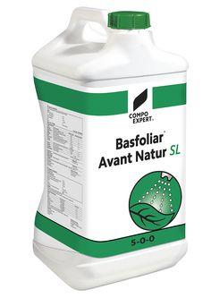 Basfoliar Avant Natur 5-0-0 Υγρό οργανικό λίπασμα με υψηλή περιεκτικότητα σε αμινοξέα 100% φυτικής προέλευσης. Τα αμινοξέα προέρχονται αποκλειστικά από ενζυματική δραστηριότητα με μέθοδο που διαφυλάσσει τη σύνθεση και την ποιότητά τους σε μορφή απόλυτα αφομοιώσιμη από τα φυτά. Ιδανικό για διαφυλλική εφαρμογή αλλά και υδρολίπανση σε κάθε καλλιέργεια.  Σύνθεση: 5,5% συνολικό άζωτο (οργανικής μορφής), 10,3% ελεύθερα L-αμινοξέα, 37,3% συνολική οργανική ουσία.  Εγκεκριμένο για χρήση στην…