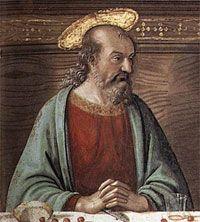 Domenico Ghirlandaio - Ultima Cena di San Marco (dettaglio) - affresco - 1486 circa - Cenacolo di San Marco - Museo nazionale di San Marco a Firenze.