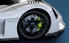 Porsche Vision GT 3D model by Alan Derosier and Marcos Beltrao