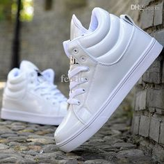 Wholesale-Black & White Footwear 2015 Modern Urban Men Fashion ...