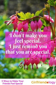 What Friend makes you feel special? 5 Ways to make your friend feel as special as her friendship is to you - Be a Better Friend! Funny Thoughts, Good Thoughts, Great Friendship Quotes, Inspiring Quotes About Life, Inspirational Quotes, Hug Quotes, Life Quotes, Our Love Quotes, Beautiful Love Pictures