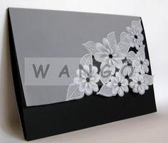 Wangô Arte em Papel Vegetal: Convite Especial Fantasia de Flores I