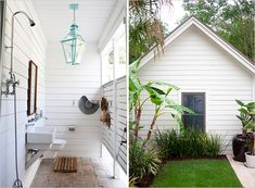 outdoor bath / Rue / Photography Heather Wilson Architects