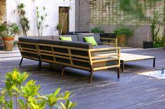 ZUDU corner sofa (Teak)