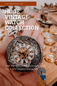Wedding Accessories, Wedding Jewelry, Mechanical Pocket Watch, Antiques Online, Timeless Beauty, Vintage Watches, Vintage Antiques, Watches For Men, Jewelery