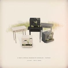 https://flic.kr/p/Thuu3p | [ keke ] spring drawers & consoles | ★ pick it up at my mainstore maps.secondlife.com/secondlife/Manet/129/92/21★