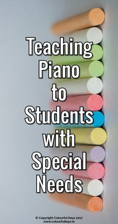 Teaching piano students with special needs might seem overwhelming at first – but it's also extremely rewarding and can help you become a better teacher.