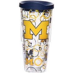 Michigan Wolverines Tervis 24oz. Bubble Up Wrap Tumbler With Lid