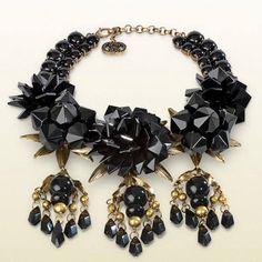 necklace with black flowers motif gucci Gucci Jewelry, Luxury Jewelry, Jewelery, Fashion Jewelry, Women Jewelry, Women's Fashion, Other Accessories, Jewelry Accessories, Jewelry Trends