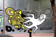 b. & ZOE ZILLION by server pics, via Flickr