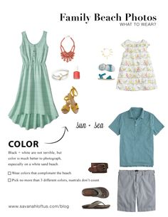 What To Wear To A Family Beach Shoot — Savanah Loftus Photography #familyphotos
