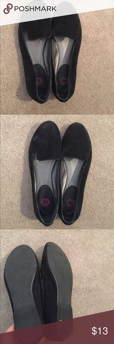 Nordstrom BP black suede shoes size 8 Nordstrom BP black suede shoes size 8, too small for me but plenty of life left! bp Shoes Flats & Loafers