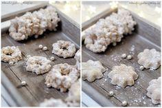 Diy Crafts Videos, Christmas Cookies, Feta, Biscuits, Dairy, Cheese, Dessert Ideas, Blog, Xmas Cookies
