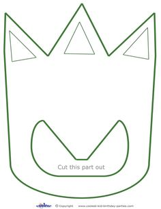 Here are some cool printable Dinosaur feet you can print and then cut out (best if on cardboard paper, and even better if you trace this shape on foam...