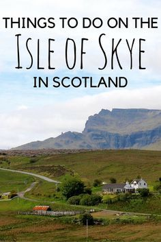 **Is the Isle of Skye in Scotland on your bucket list? It's on mine! Check out these travel tips!
