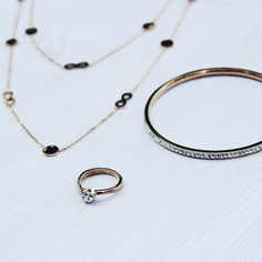 Sometimes good things come in 3s.  #jewelry #necklace #bracelet #ring #accessories #sterlingsilver #set #glam #three #fashionjewelry #inspo  Get these beauties at: http://www.eternalsparkles.com/