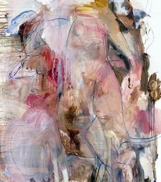 he 34-year-old Elizabeth Neel, who lives and works in Brooklyn, creates violent, gestural canvases that border on abstraction but are in actuality deeply rooted in the facts of the physical world.