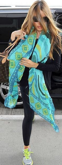 Turqouise scarf