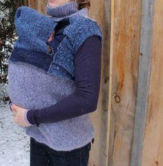 Babywearing Vest Sweater