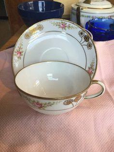 Hand painted Nippon Teacup Set