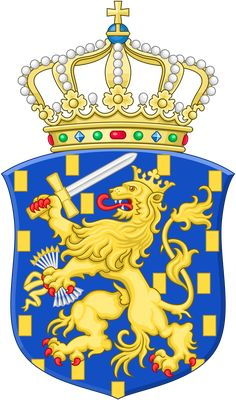 Category:Royal coat of arms of the Netherlands Dutch Republic, Medieval, Kingdom Of The Netherlands, Bear Graphic, Morale Patch, Crests, Nassau, Wikimedia Commons, Countries Of The World