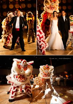 Lion Dance at the Palm Event Center in the Vineyard (photo by Tyler Vu Photography).