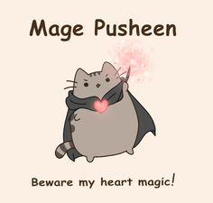Mage Pusheen by CuteNikeChan