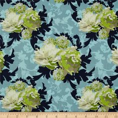 Online Shopping for Home Decor, Apparel, Quilting & Designer Fabric Cream Couch, Color Studies, Riley Blake, Dusty Blue, Home Decor Items, Verona, Fabric Design, Printing On Fabric, Sewing Projects