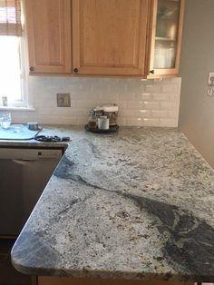 Peekaboo look where these homeowners hid their shower for Romanix granite