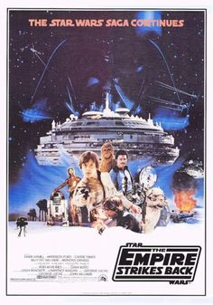 'The Empire Strikes Back' Poster (1980) version 5