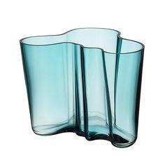 Buy Iittala's Aalto Glass Vase by Alvar Aalto Pentagon Design, Wooden Platters, Home Decor Vases, Alvar Aalto, Classic Series, Design Competitions, Organic Shapes, Memorable Gifts, Glass Design