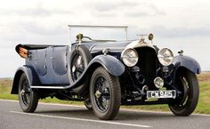 1929 Bentley 4 1/2 Litre Open Tourer