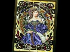 Alphonse Mucha was born in what is now the Czech Republic in 1860 and moved to Paris in Art Nouveau, Art Deco, Alphonse Mucha Art, Moving To Paris, Coloring Books, Colouring, Illustration Art, Flag, 1