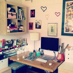My studio. My home office. #whereiwork #homeoffice