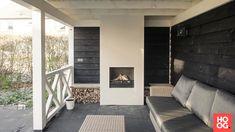 Buitenpracht Houtbouw - Tuinkamer met open haard - Hoog ■ Exclusieve woon- en tuin inspiratie.