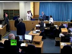 Protester Bursts Into Leveson Inquiry During Tony Blair Evidence