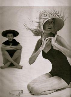1950's beachwear photo louise dahl wolfe