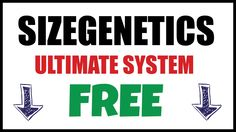 Is it really possible to get the sizegenetics ultimate system for free? Watch this short video on how to increase penis size naturally and as a bonus get your money back by watching this sizegenetics review.  #GetSizegeneticsFree #sizegeneticsReview #HowToIncreasePenisSizeNaturally