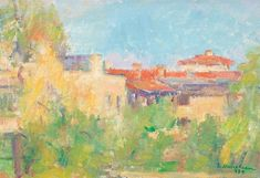 View Houses in Pangratti By Ion Musceleanu; oil on canvas glued on cardboard; Access more artwork lots and estimated & realized auction prices on MutualArt. Still Life Fruit, Oil On Canvas, Auction, Artists, Artwork, Painting, Work Of Art, Green Hand Towels