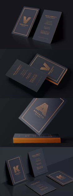 Luxury Resorts Business Card Template PSD