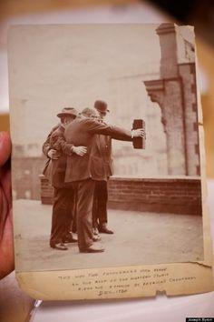 1920 selfie taken 100 years ago