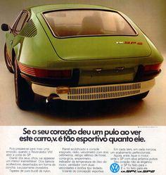 VW SP2 Ad (brazilian sport car)