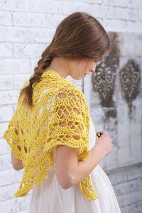 Summer Morning Shawl ~ Free Pattern